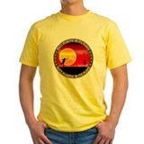 Pdga Mens Yellow T-shirts