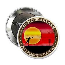 "june11_putt_plastic_red_sun 2.25"" Button"