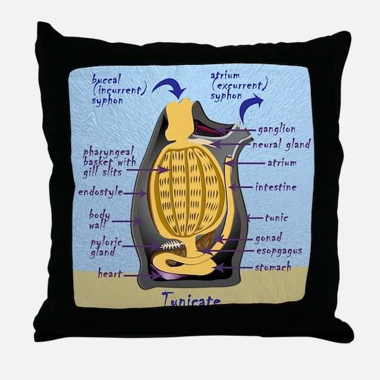Tunicate Throw Pillow