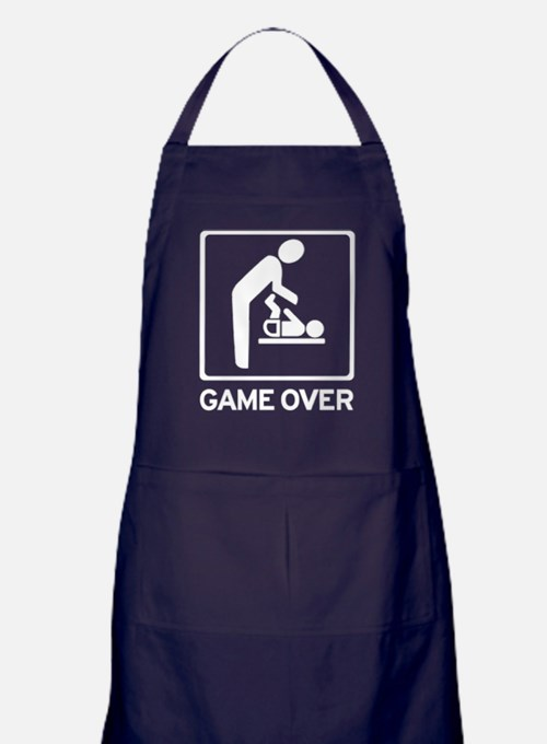 game-over Apron (dark)