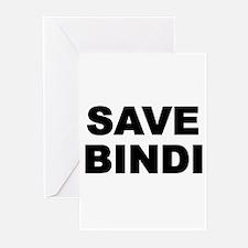 SAVE BINDI Greeting Cards (Pk of 10)
