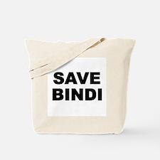SAVE BINDI Tote Bag