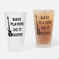 DO IT DEEPER 2 Drinking Glass