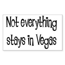 not everything vegas solid Decal