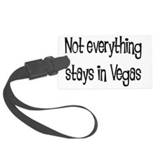 not everything vegas solid Luggage Tag