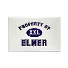 Property of elmer Rectangle Magnet