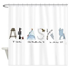 The Great Land - Color Shower Curtain