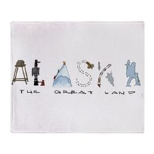 The Great Land - Color Throw Blanket