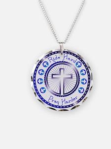 CB13 CROSS WHEEL Necklace
