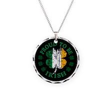 Irish_Button Necklace
