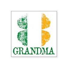 "Irish_Grandma Square Sticker 3"" x 3"""