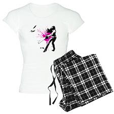 CASUAL FRIDAY pink splash b Pajamas