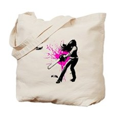 CASUAL FRIDAY pink splash by Ursula Willi Tote Bag