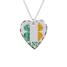 Irish_Grandpa Necklace Heart Charm