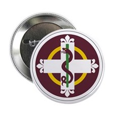 """338th Medical 2.25"""" Button"""
