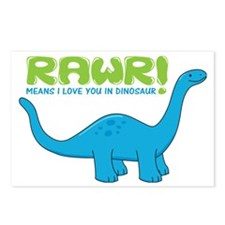 rawrdino Postcards (Package of 8)