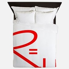 geeksrcool_WR Queen Duvet