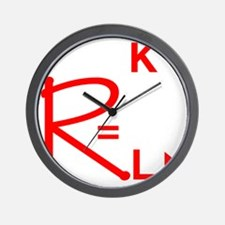 geeksrcool_WR Wall Clock