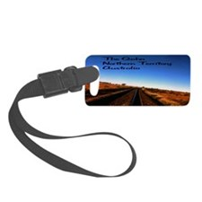 Gahn Railroad22x14 Luggage Tag