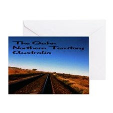 Gahn Railroad22x14 Greeting Card