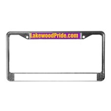 lakewoodpride_bumper License Plate Frame