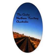 Gahn Railroad5.5x8.5 Stickers