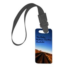 Gahn Railroad5.5x8.5 Luggage Tag