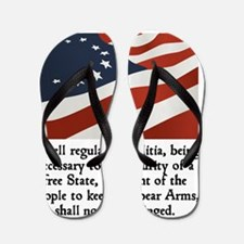 2nd amendment Flip Flops