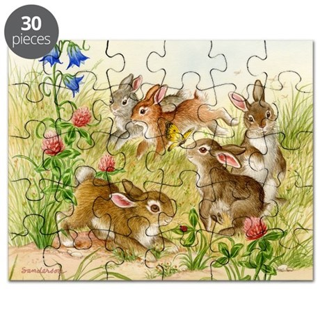 Five Little Bunnies Puzzle