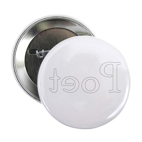 Literary Poet in verse Poetry Button
