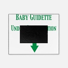 baby guidette under constr Picture Frame