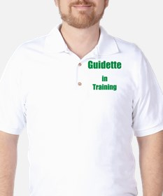 Guidette in training Golf Shirt