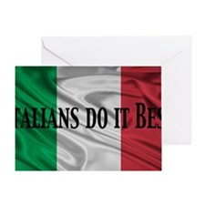 Italians do it best! Greeting Card