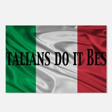 Italians do it best! Postcards (Package of 8)