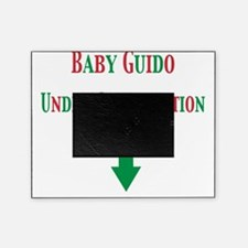 baby guido under constr GR Picture Frame