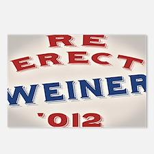 re-erect-weiner-OV Postcards (Package of 8)