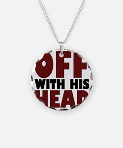 offwithhead2 Necklace