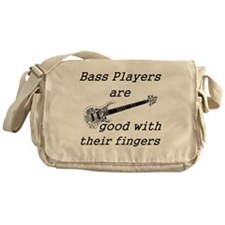 good with their fingers Messenger Bag