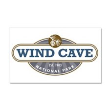 Wind Cave National Park Car Magnet 20 x 12