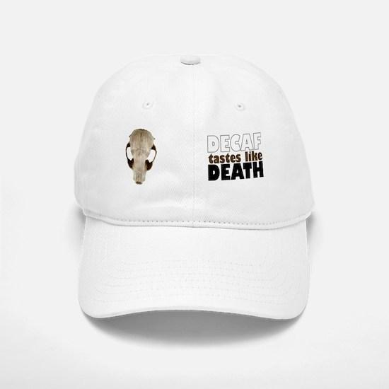 decaf2 Baseball Baseball Cap