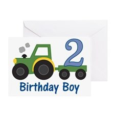 tractor2 Greeting Card