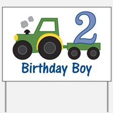 tractor2 Yard Sign