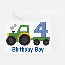 tractor4 Greeting Card