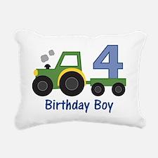 tractor4 Rectangular Canvas Pillow