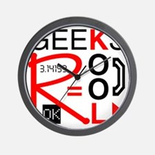 geeksrcool_KR Wall Clock