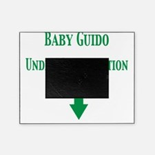 baby guido under constr Picture Frame