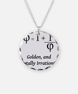 phi-equation-irrational-blac Necklace