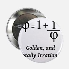 "phi-equation-irrational-blackLetters  2.25"" Button"