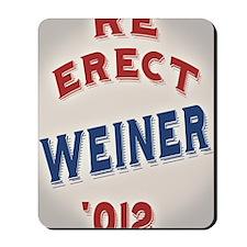 re-erect-weiner-CRD Mousepad