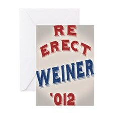 re-erect-weiner-CRD Greeting Card